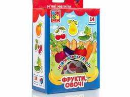 """Мой маленький мир на магнитах Vladi Toys """"Овощи, фрукты"""". .."""