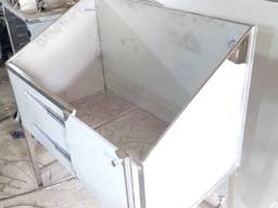 Мойка для груминга 1400х600х1500 мм