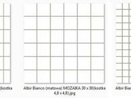 Mozaika Albir Bianco 30х30 Ceramika Paradyz
