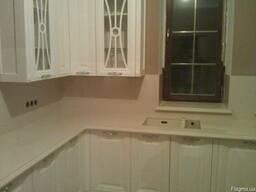Мрамор гранит кухни кухонная мебель дизайн плитка - фото 2