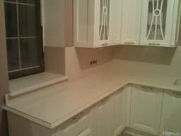 Мрамор гранит кухни кухонная мебель дизайн плитка - фото 6