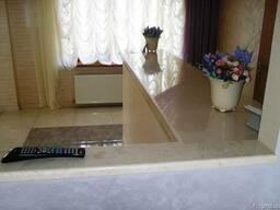 Мрамор гранит кухни кухонная мебель дизайн плитка - фото 7