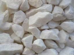 Мраморная крошка белая 5-25мм, доставка по Украине