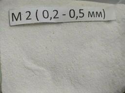 Мраморная крошка, М2  0,2 мм-0,5 мм, белая, Nigtas...