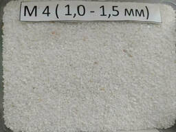 Мраморная крошка, М4  1.0 мм-1.5 мм, белая, Nigtas...