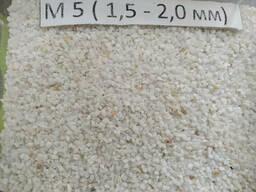 Мраморная крошка, М5  1.5 мм-2.0 мм, белая, Nigtas...