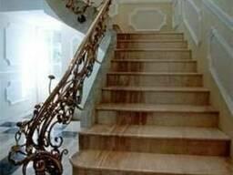 Мраморная лестница Мрамор Ступени Мрамор купить Киев