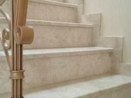 Мраморная лестница, ступени, балясины Одесса