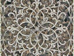 Мраморное мозаичное панно (декор из мрамора)