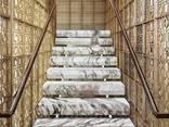 Мраморные ступени. Лестница в мраморе, граните. - фото 7