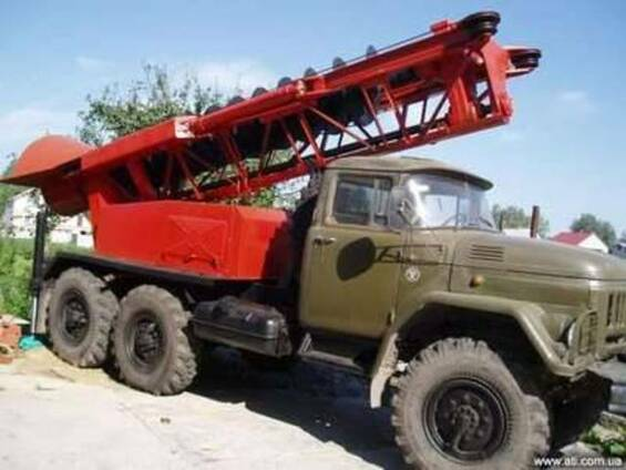 МРК 750 на базе ЗИЛ 131 с хранения 1986г. в. , пробег 12000км