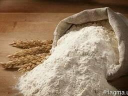 Мука пшеничная 1с (первый сорт) по Украине и на экспорт