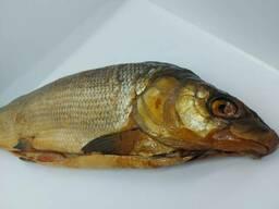Муксун рыба холодного копчения потрошеная