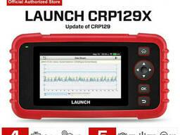 Мультимарочный диагностический сканер Launch X431 CRP129X