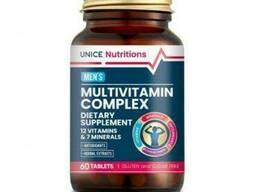 Мультивитаминный комплекс для мужчин Unice Nutritions, 60 таблеток