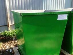 Мусорный контейнер (2.0 мм) 0.75м3 (баки, урни)