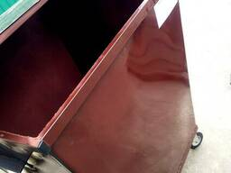 Мусорный контейнер бак 0.75 м3 1.5мм (кришка колеса)