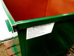 Мусорный контейнер (бак) 0.75м3 великий вибір обладнання ЖКХ