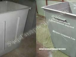 Мусорные контейнеры и баки для мусора, изготовление и достав