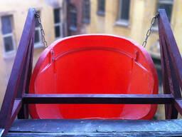 Рама-кронштейн, специальная для мусоросброса строительного