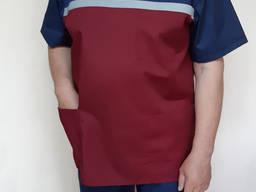 Мужская летняя форма скорой помощи кокетка бордо