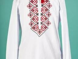 Мужская вышитая сорочка, сорочка украинская, рубашка