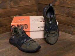 Мужские кожаные кроссовки Under Armour (реплика)