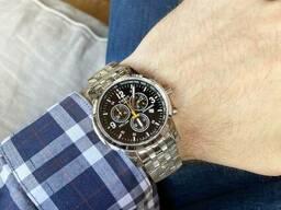 Мужские кварцевые часы Tissot реплика с Календарем