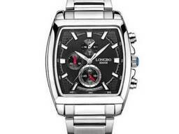 Мужские люксовые часы Longbo Luxury Steel