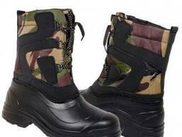 Мужские сапоги утепленные, обувь рабочая зима