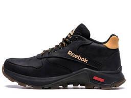 Мужские зимние кожаные ботинки Reebok G-Step (реплика)