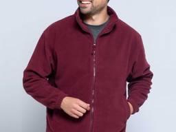 Мужской флисовый свитер