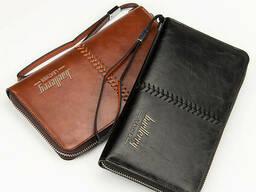 Мужской клатч Baellerry Leather Коричневый