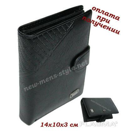 Мужской кожаный кошелек портмоне бумажник обложка. ..