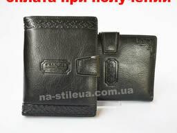 Мужской кожаный кошелек портмоне гаманець бумажник Pilusi. ..