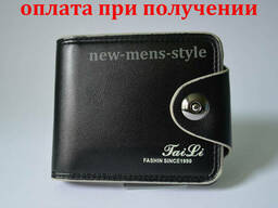 Мужской кожаный кошелек портмоне гаманець бумажник TaiLi. ..