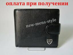 Мужской кожаный стильный кошелек клатч портмоне Bense MEN. ..