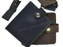 Мужской стильный кошелек портмоне бумажник натуральная. ..