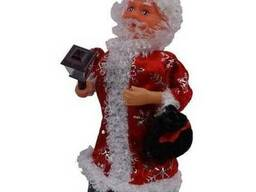 Новогодний Дед Мороз на батарейках