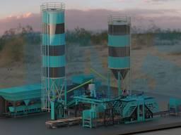 MVS 2510 Производство бетонного паркета и брикета
