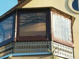 Мягкие окна для веранды, беседки и летнего кафе. - фото 2