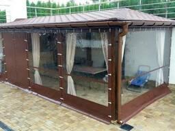 Мягкие окна для веранды, беседки и летнего кафе. - фото 3