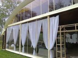 Мягкие окна для веранды, беседки и летнего кафе. - фото 4