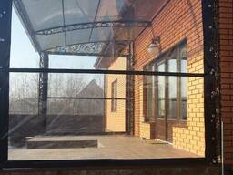 Мягкие окна на веранду , террасу