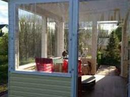 Мягкие окна, шторы из пвх, прозрачные шторы
