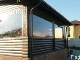 Мягкие окна ( шторы ) ПВХ для летнего кафе, беседки, веранды - фото 2