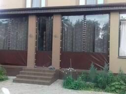 Мягкие окна, стены, завесы, шторы из прозрачной ПВХ ткани