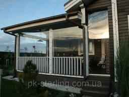 Мягкие защитные окна-прозрачные шторы ПВХ для летних. ..