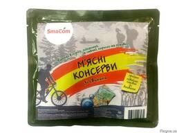 Мясные консервы со свинины в реторт-пакете ТМ SmaCom
