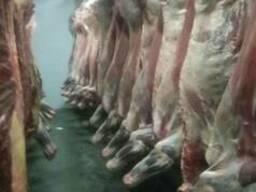 Мясо говядины 1 категории на кости